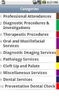 Screenshot of myMBS - Medicare Australia