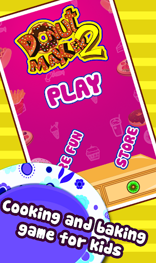 Donut Maker2-cooking game