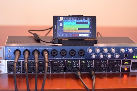 Audio Evolution Mobile Studio: miniatura de captura de pantalla
