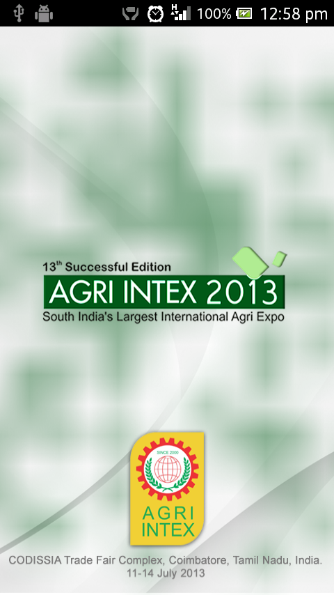 AGRI INTEX 2013- screenshot
