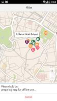 Screenshot of Milan City Guide