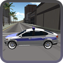 Police Car Drifting 3D icon