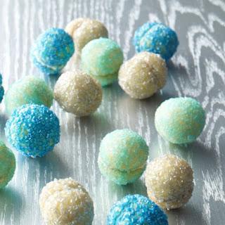 Glitter Ball Cookies.