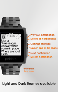 Notifier Pebble