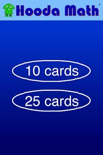 Math Flash Cards - screenshot thumbnail