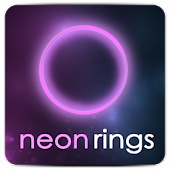 Neon Rings Live Wallpaper