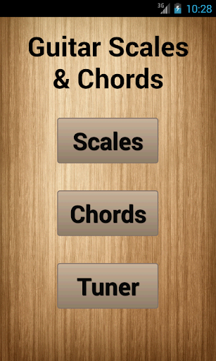 Guitar Scales Chords