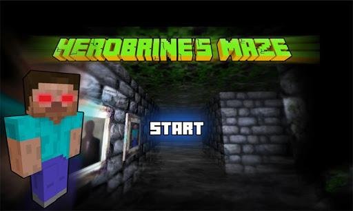 Herobrine`s Maze