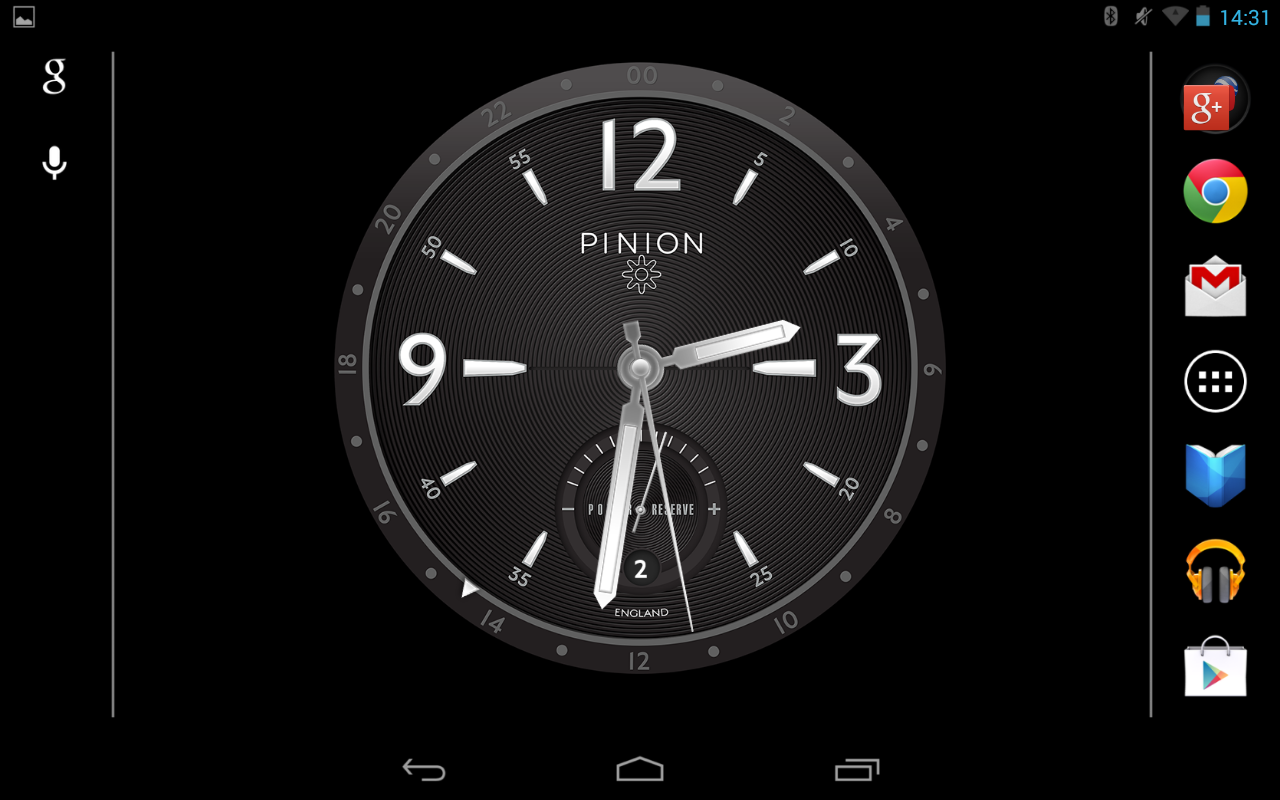 Pinion Desk Clock Android Apps On Google Play