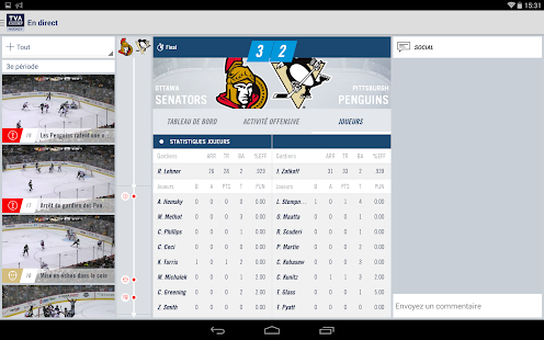 TVA Sports Hockey- screenshot thumbnail