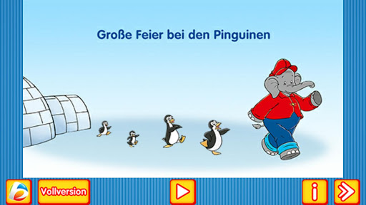 Große Feier bei den Pinguinen