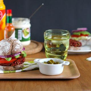 Beautiful Beet Burgers {vegan}