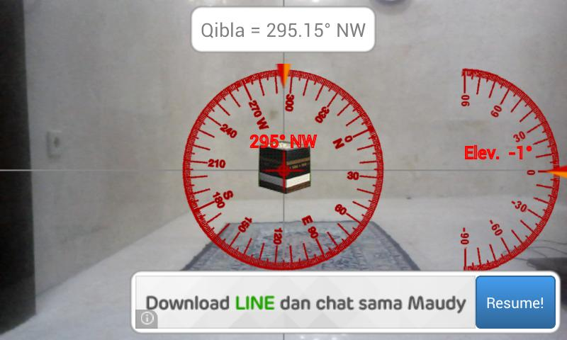 Camera Qibla- screenshot