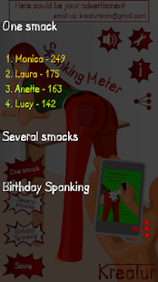 Spanking Meter - screenshot thumbnail