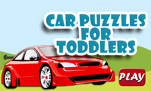 Toddler Car Puzzle - Jigsaw