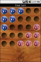 Screenshot of Chinese Checkers (jump over)
