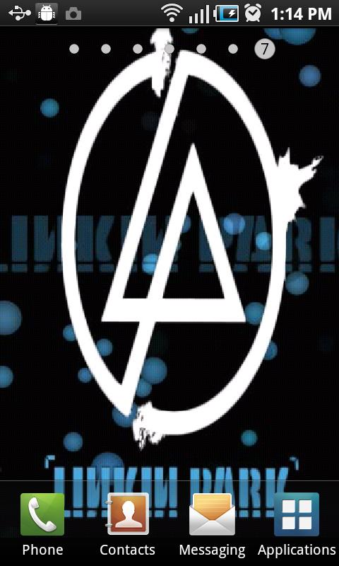 Linkin Park Live Wallpaper - screenshot