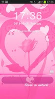 Screenshot of GO Locker Theme Pink Valentine
