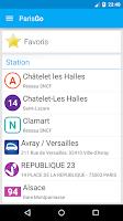Screenshot of ParisGo