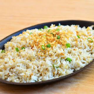 Sinangag (Garlic Fried Rice).