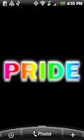 Screenshot of Pride Rainbow Live Wallpaper