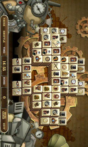 玩免費解謎APP|下載Crazy Inventor Mahjong Full app不用錢|硬是要APP