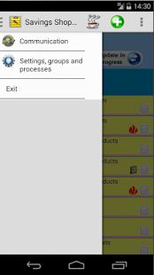 Saving Grocery Shopping List - screenshot thumbnail