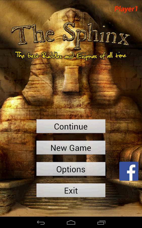 The Sphinx Riddles and Enigmas - screenshot
