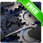 Mechanical gear 3D free lwp