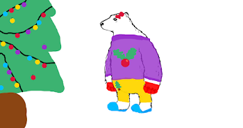 8. Christmas Polar Bear