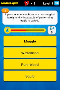 Muggle Quiz - HP Challenge - screenshot thumbnail