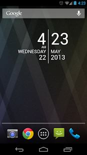 SDS2 Clock Widget- screenshot thumbnail