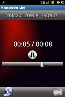 MT Recorder Lite- screenshot thumbnail