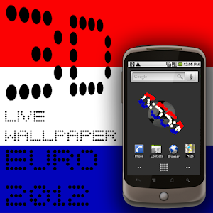 3D Clock CROATIA FLAG WALLPAPE apk