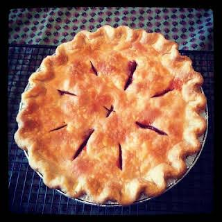 Tart Cherry Pie.
