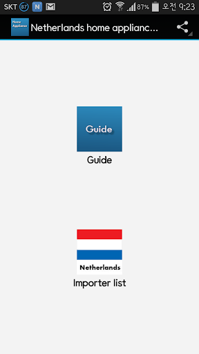 Netherlands home appliance Buy