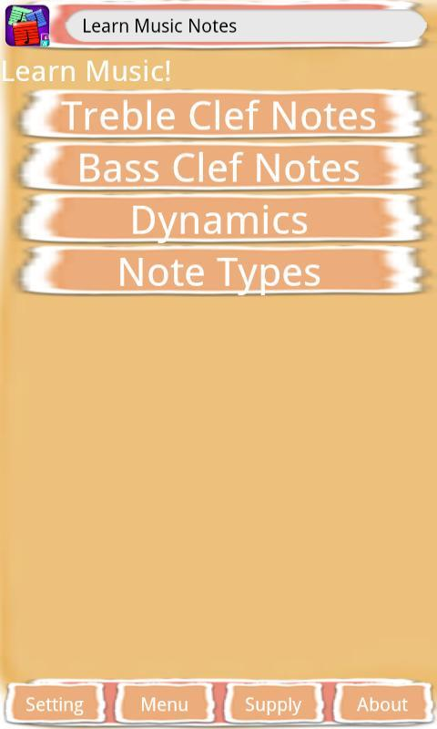Learn Music Notes - screenshot