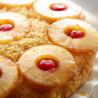 Pineapple Upside Down Cake No Eggs Recipes.