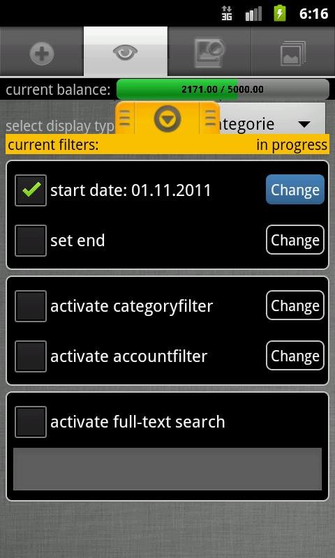 Budget Book (adFree) - screenshot
