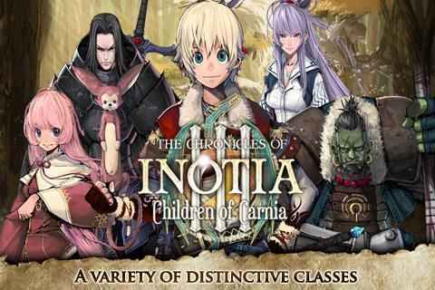 Inotia3: Children of Carnia screenshot #1