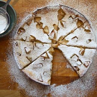 Baked Apple-Gingerbread Pancake