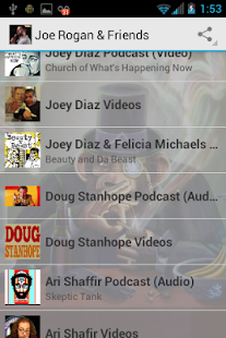 Joe Rogan & Friend's Podcasts- screenshot thumbnail