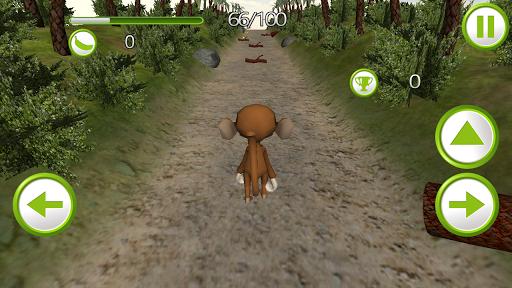 Monkey Jungle Rush 3D Pro