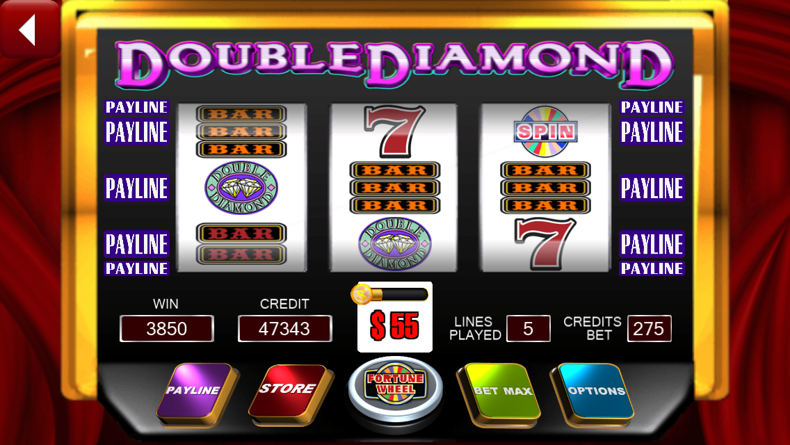 slot machine image 3 diamonds