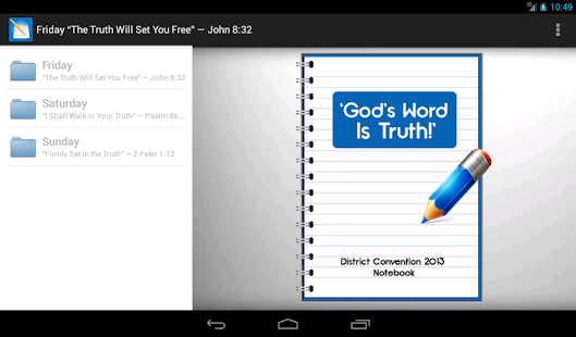 Assembly Notes (Jehovah's W.) - screenshot thumbnail