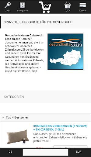 Gesundheitskissen Österreich