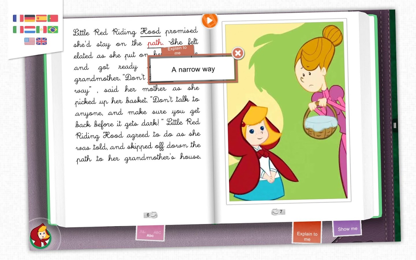 Little Red Riding Hood - Book- screenshot