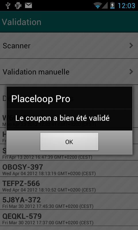Placeloop Pro– Capture d'écran