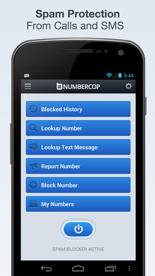 Block Spam Numbers:Calls,Texts - screenshot