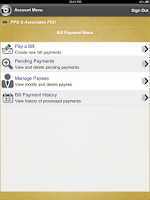 Screenshot of PPG and Associates FCU